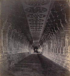 Ramisseram [Rameswaram] Pagoda, Island of Paumben. The long side aisle